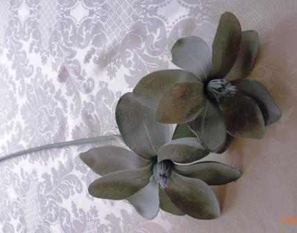Jiřina látková šedá MH91912