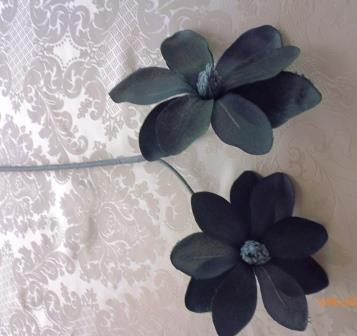 Jiřina látková tmavě modrá MH91912